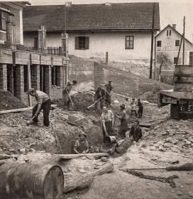 Zach alt Heiligenkreuz Tankstelle KFZ Werkstätte Bau