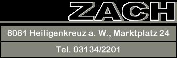 Zach KFZ Tankstelle Werkstatt Heiligenkreuz Eni