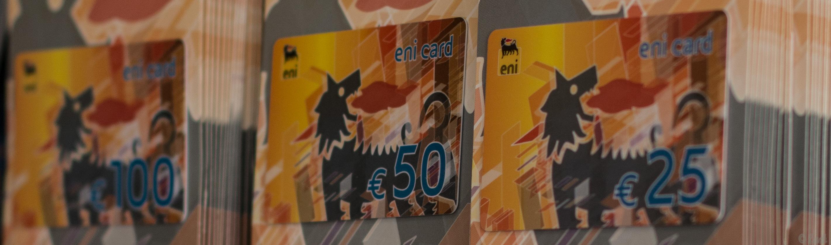 eni card –Gutscheinkarte